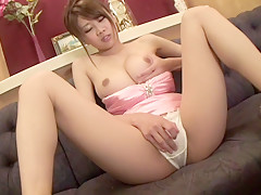 Horny Japanese chick in Amazing High Heels, Toys JAV video