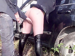 Exotic homemade Outdoor adult video