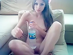 Young Girl  Playing With Dildo