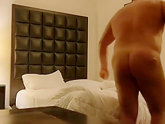 Secretly filming wifey and I. Great blowjob from my Russian babe.