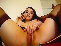 Smoking orgasm