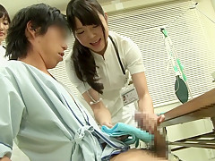 Fabulous Japanese whore in Best Public, Handjob JAV clip