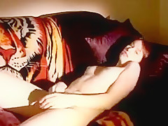 Teen masturbates and has a body shaking orgasm at the