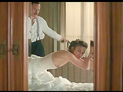 Keira Knightley jerk off challenge to the beat(metronome) with moans