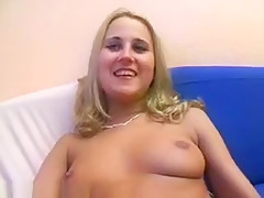 German Teen Picked For Her First Porn Casting