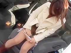 Horny Japanese girl in Exotic Voyeur, Public JAV movie