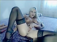 Milf Blonde Big Boobs Like To Fuck Anal