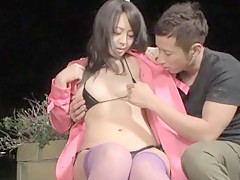 Incredible Japanese girl in Hottest Public, Outdoor JAV movie