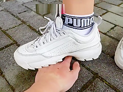 Hard handcrush in Fila and Dr Martens