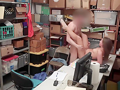 Brook Bliss Got Her Teen Pussy Fucked Up By The Lp Officer