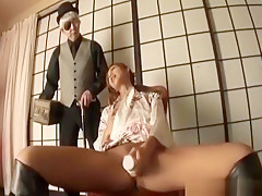 Kei Doll Uses Sex Toys In Front Of Fellows