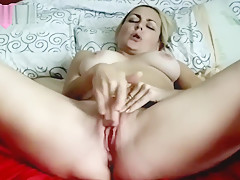 Slut blonde orgasm
