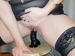 Riding my dildo
