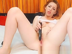 Watch And Be Amazed How Wild This Redhead Hottie Is! She
