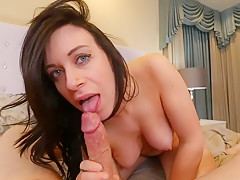 Cheating wife seduces stranger with big dick POV brunette big ass FULL