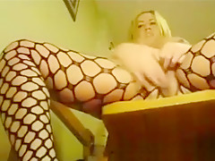 Horny Chick Toying Her Ass And Masturbating