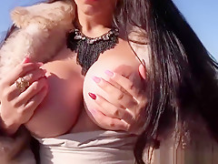 Busty Spanish Slut Picked Up And Facialized For Cash Pov