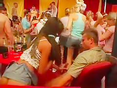 Horny Party Hoes Suck And Fuck Dicks In Club