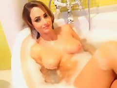 Anastasia Harris - After The Shoot (FULLY NUDE STRIPTEASE)