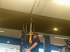 Gym brunetre with a big ass pt2