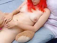 18yo red hairy pussy