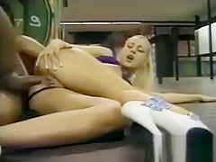 Lots Of Public Fucking With A Blonde Slut