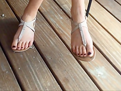 Elise's Candid Feet Part 3