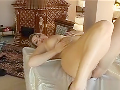 Explicit Dildo Playing And Rough Pounding With A Honey