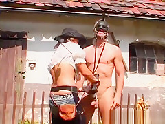 Bondage Fetish Act With Sexy Tied Up Honey Getting Licked