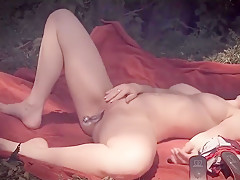 ✪ VIDEO SHOOTING - OUTDOOR MASTURBATION MADE IN GERMANY