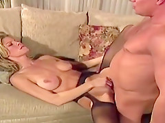 Juicy busty young girl gets fucked in amateur porn video