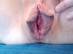 Glass toy, anal, fingers, squirting milf plays with her juicy wet cunt