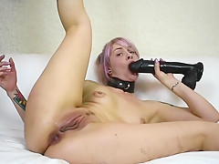 Kitty Rose, Self-Degrading Anal Whore