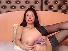 Nice Camwhore Play By Sextoy On Webcam
