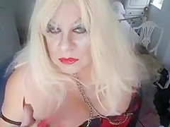 red lipstick smoking with nipple orgasm