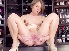 Unusual Czech Kitten Gapes Her Juicy Slit To The Special