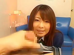Japanese Beauty Puts It Deep All The Way To Her Face Hole
