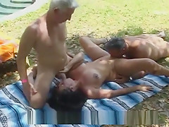 Wife gets GANG BANGED at PUBLIC PARK