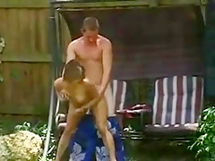 Ex- Roomate And Girlfriend Fucking Outside