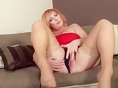 Horny Czech Teen Stretches Her Narrow Cunt To The Bizarre