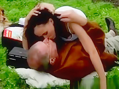 Hot Teen Seduces Her Horny Grandpa During Open Doors Picnic