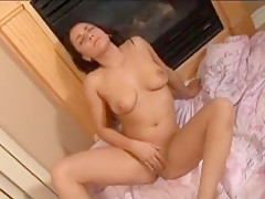 Fabulous pornstar Mandy Luxx in exotic striptease, solo girl adult video