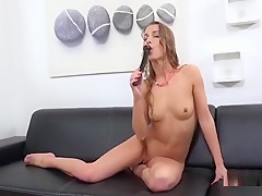 Breathtaking Kitten Is Peeing And Pleasing Shaved Vagina33je
