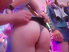 Hot Girls Get Entirely Delirious And Naked At Hardcore Party