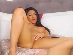 Cute Petite Teen Fingers And Makes Her Pussy Wet