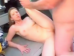 Hot Girlfriend First Facial
