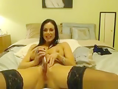 Horny Milf With An Adult Toy