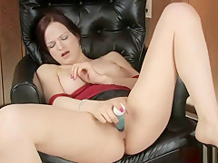 Horny Milf Is Playing With A Sex Toy