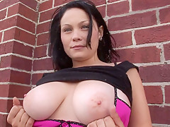 Big Tits Getting Naked Outside - SpringbreakLife