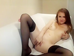 Tight Asshole Toy Penetrated Softly In Solo Masturbation Fun